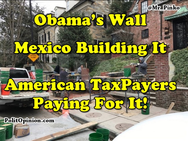 President Obama Builds
