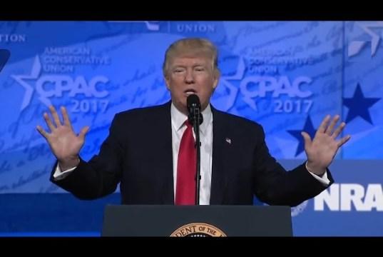 President Donald Trump CPAC Speech