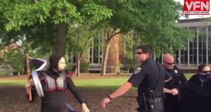 Auburn Alabama Police UNMASK Antifa