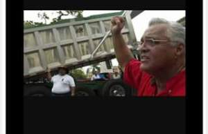 "Ramon Socio Aponte LIVE! ""This piece of sh*t name is Victor Rodriguez he's the truckers Union leader of Teamster."
