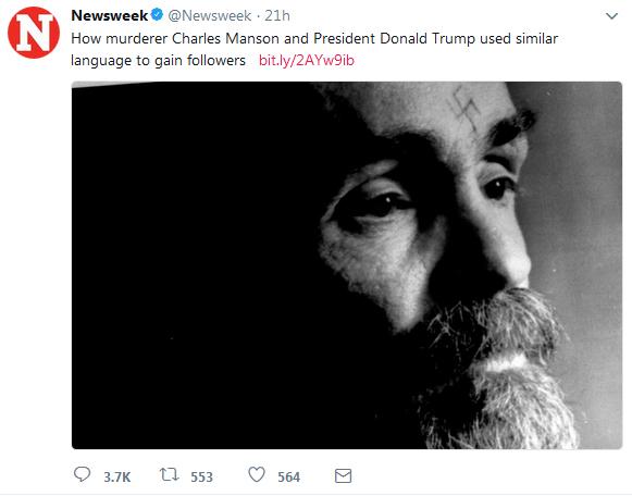 INSANE NEWSWEEK ARTICLE