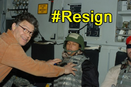 PETITION Senator Al Franken - RESIGN IMMEDIATELY!