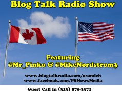 """TONIGHT! 8:00pm – 10:00pm EST The U.S.&Eh?! Show with Mike Nordstrom & @Mr_Pinko CALLER NIGHT! (323) 870-3371 Click on """"LIVE"""" to listen to the show."""