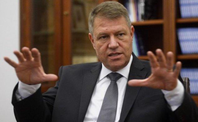 резидент Румынии Клаус Иоханнис