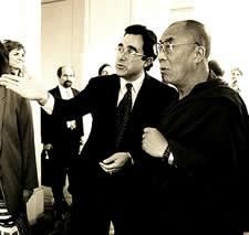 Bill Paparian, the Dalai Lama