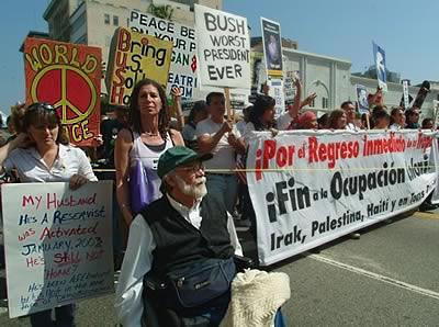 Antiwar protest. Ron Kovic