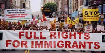 Full rights for immigrants