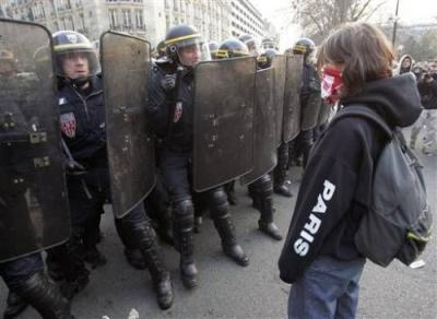 Paris unrest