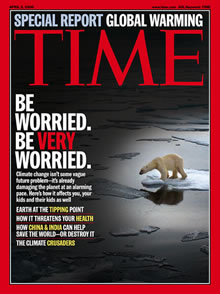 Time Magazine, global warming cover