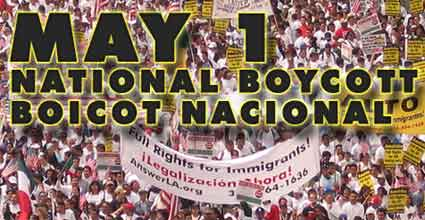 May 1 boycott