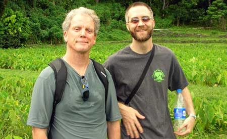 Bob Morris, Scott Crawford, Kapuhu Living Farm