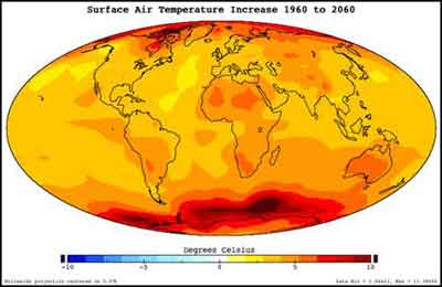 climate change warming