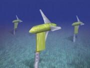 Underwater turbine. Verdant Power