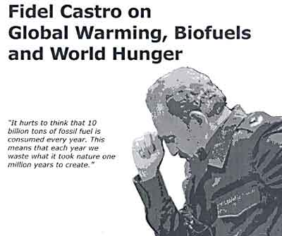 Castro on Global Warming