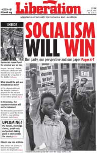 PSL Liberation newspaper