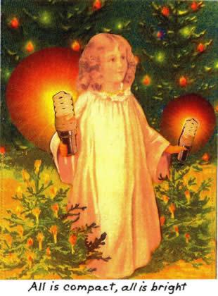 All is compact Christmas Card, Cara Scissoria.com