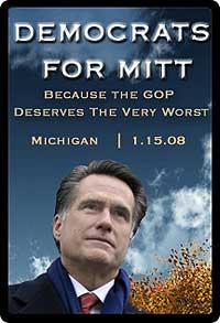 Democrats for Romney!