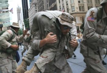 Iraq Veterans Against the War, NYC protest