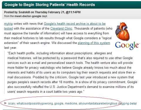 Google Health plan