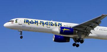 Iron Maiden plane