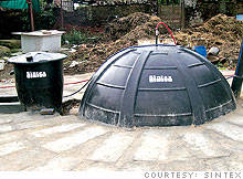 Sintex biogas digester