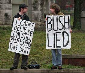 antiwar protest signs