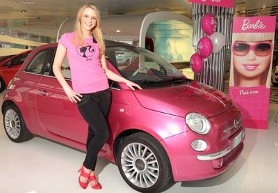 The Barbie 50th anniversary Fiat