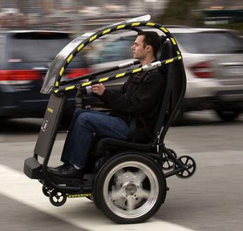 gm segway self-balancing two-wheeler
