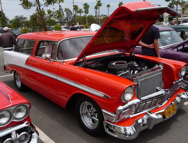 1956 Chevy 2 door station wagon