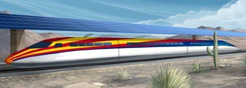 solar powered high speed rail