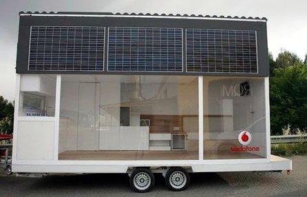 solar mobile home