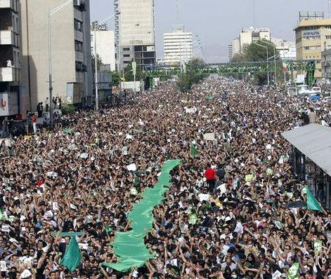 Tehran protest today