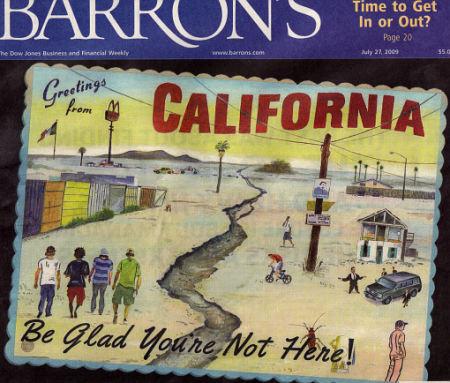 barrons cover. california