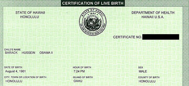 You probably think this birth certificate is valid, don't you, you porr ignorant non-Birther fool.