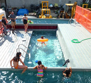 Swimming Pools Made From Shipping Containers Politics In The Zeros