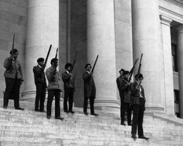 black panthers. california state capitol