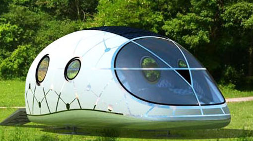 Solar-powered mobile lounge