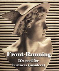 Front running