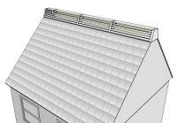 Ridgeblade roof view