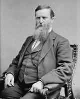 James Baird Weaver. Populist presidential candidate, 1892