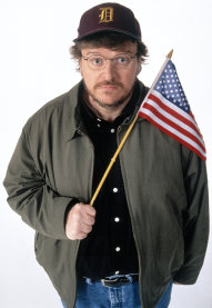 michael moore flag