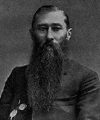 William Peffer. US Senator from Kansas. Populist Party 1890