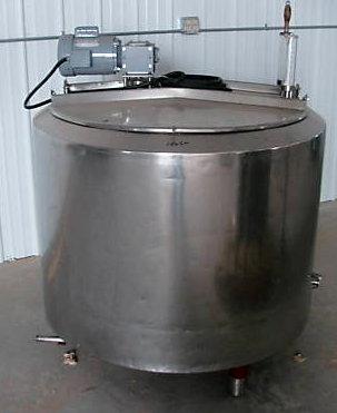 150 gallon pasteurizer / cheese vat
