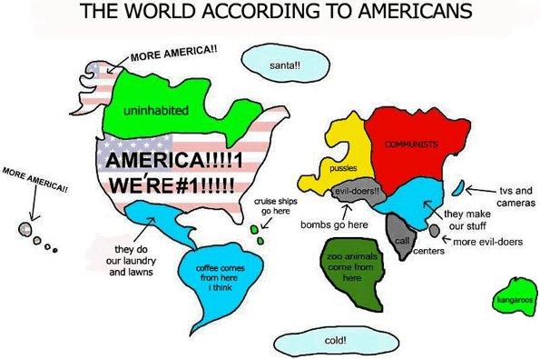 world according to USA
