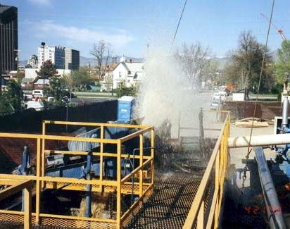 Drilling for geothermal in Boise