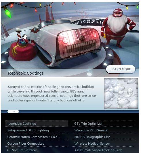 santa sleigh updated by GE