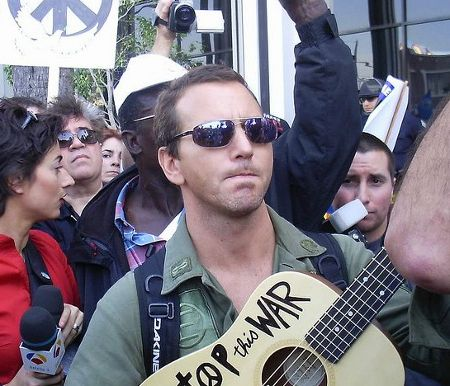 Eddie Vedder: Imagine that - I'm still anti-war