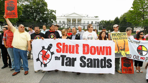 Keystone XL Protests in Washington