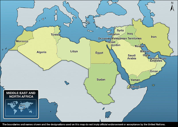 Middle East, North Africa (MENA)