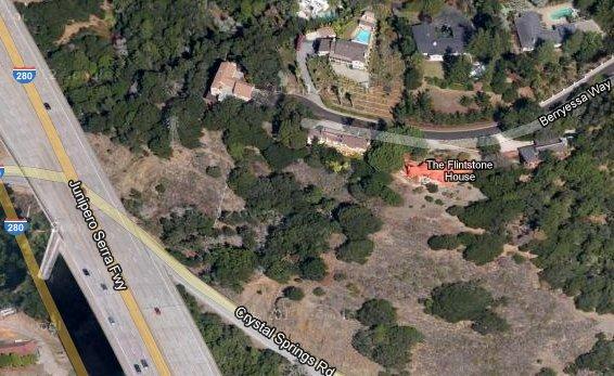 flintstone house google maps